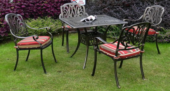 Superb China Europe Style Cast Aluminum Outdoor Dining Table Theyellowbook Wood Chair Design Ideas Theyellowbookinfo