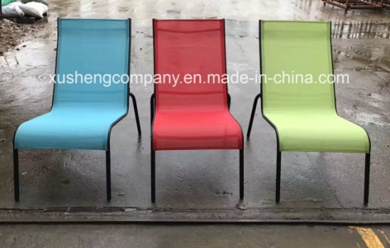 Stupendous China Metal Steel Frame No Armchair Textilene Leisure Lounge Chair Inzonedesignstudio Interior Chair Design Inzonedesignstudiocom