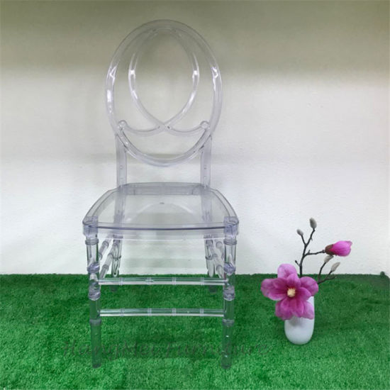 China Wholesale Wedding Decorations Supplies Clear Resin Phoenix Chair