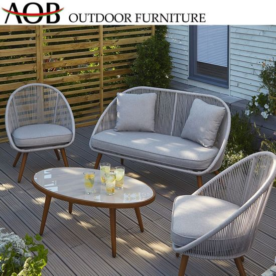 Amazing China Hot Selling Europe Style Garden Furniture Luxury Outdoor Rope Furniture Indoor Sofa Set Ibusinesslaw Wood Chair Design Ideas Ibusinesslaworg