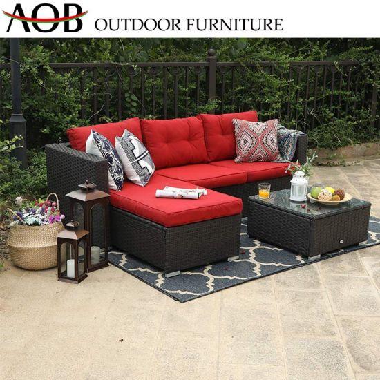 Marvelous China Modern Handmade Outdoor Garden Furniture Aluminium Corner Sofa With Cushion Ceramic Table Alphanode Cool Chair Designs And Ideas Alphanodeonline