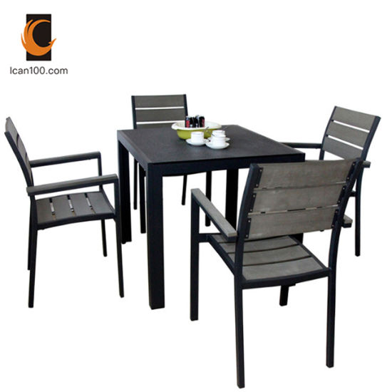 Peachy China Water Proof Wholesale Modern Polywood Outdoor Garden Wooden Restaurant Furniture Dining Set Pdpeps Interior Chair Design Pdpepsorg