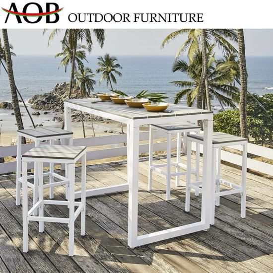 China Best Selling Outdoor Furniture Sets Bistro Coated Aluminium Wholesale Beach Chair