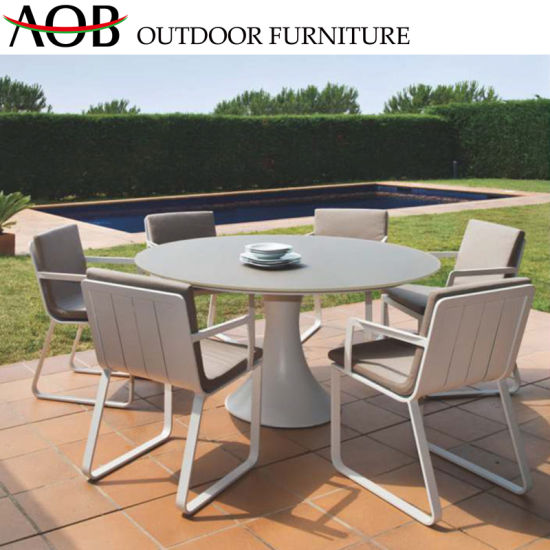 Super China Chinese Outdoor Garden Home Resort Restaurant Aluminium Poolside Table Chairs Dining Furniture Uwap Interior Chair Design Uwaporg