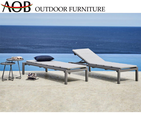 Incredible China Wholesale Leisure Outdoor Garden Hotel Home Patio Furniture Lounge Daybed Aluminium Lying Bed Theyellowbook Wood Chair Design Ideas Theyellowbookinfo