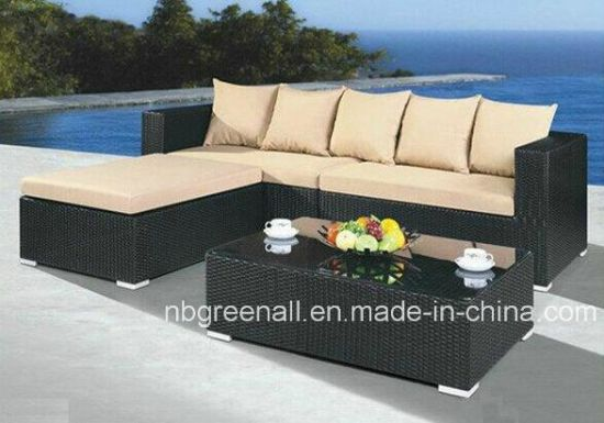 China Outdoor Rattan Wicker Sofa Garden Furniture