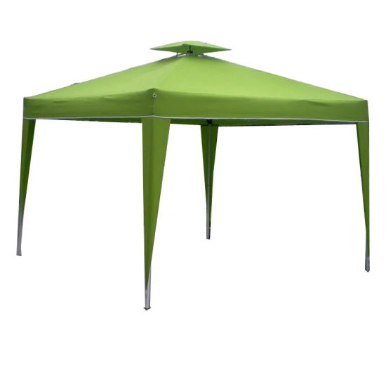 China Double Roof Canopy Steel Frame Material Outdoor Garden Tent