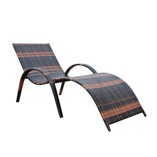 China New All Weather European Outdoor Garden Lounger Sunbed Beach Chair