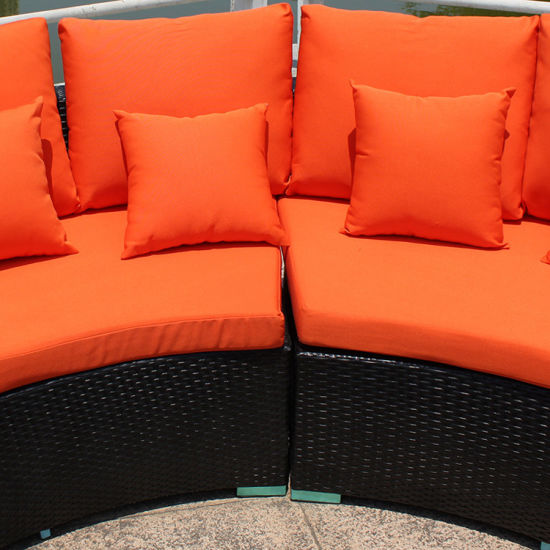 China New Rattan Weaving Long Comfortable Sofa with Great Price pictures & photos