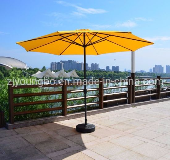 China 3.5m Patio Parasol 48mm Metalen Frame Outdoor Tuin Parasol