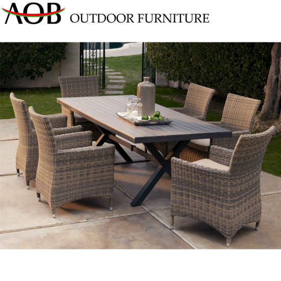 China Chinese Outdoor Garden Furniture Sets Rattan Chairs New