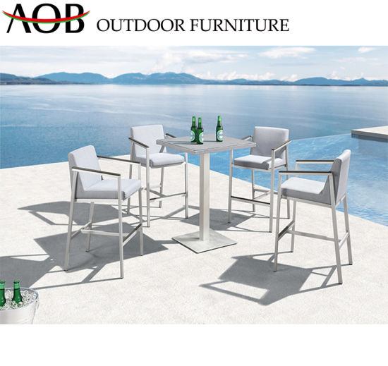 Fantastic China Modern Outdoor Garden Home Hotel Resort Deck Bar Stools Table Chair Furniture With Teak Andrewgaddart Wooden Chair Designs For Living Room Andrewgaddartcom