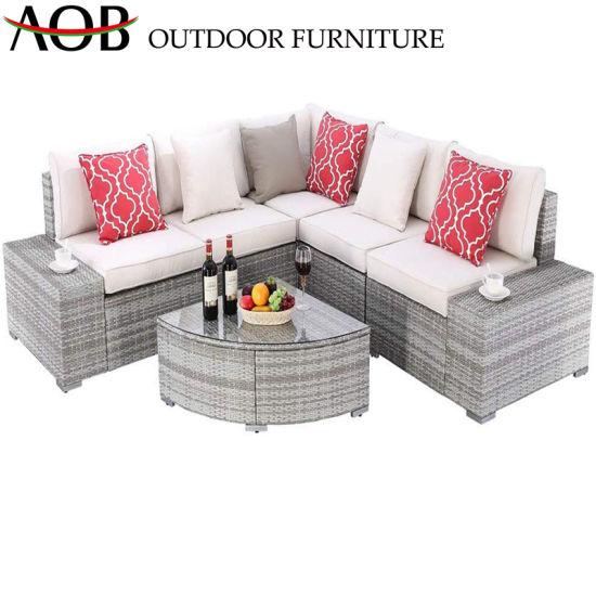 Pleasant China Rattan Garden Furniture Sets Outdoor Patio Modern Hotel Lounge Corner Sofa Alphanode Cool Chair Designs And Ideas Alphanodeonline