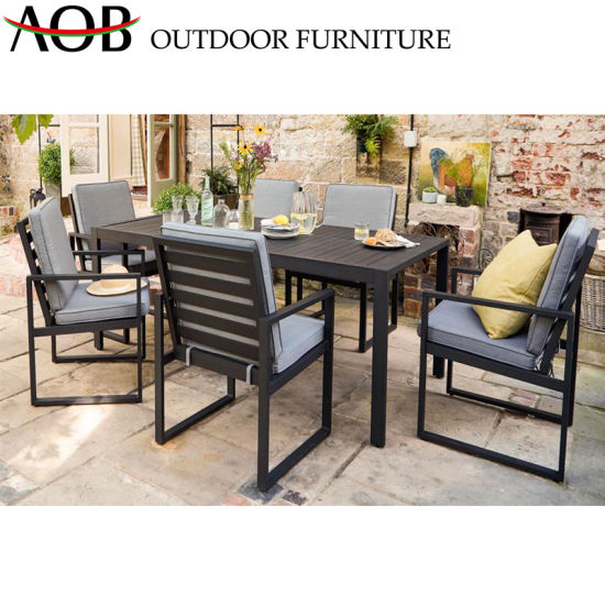China 7 Pieces Dining Sets Outdoor Garden Furniture Patio Tables