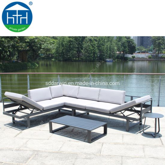 China Dw-Sf1905 Wholesales Modern Garden Outdoor Furniture Aluminum Frame pictures & photos