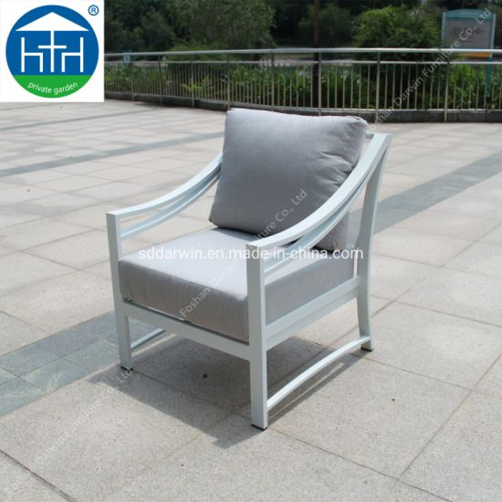 China Dw-Sf1908 Aluminum Frame Leisure Sofa Set Outdoor Furniture pictures & photos