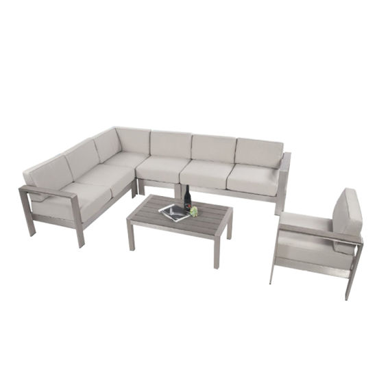 China Modern Outdoor Lounge Furniture Sofa Set