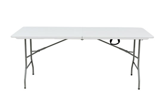 China 1.8m White Table 6FT Catering Garden Party Banquet Folding Heavy Duty Table