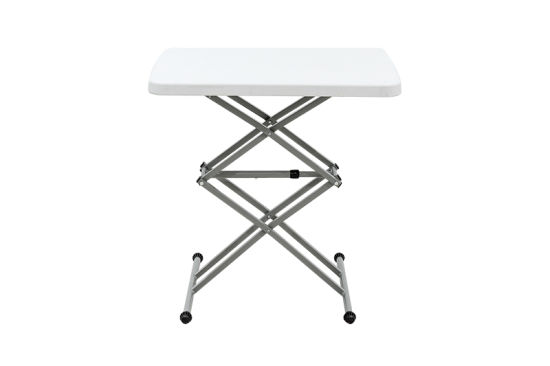 China Plastic Adjustable Small Computer Folding Table pictures & photos