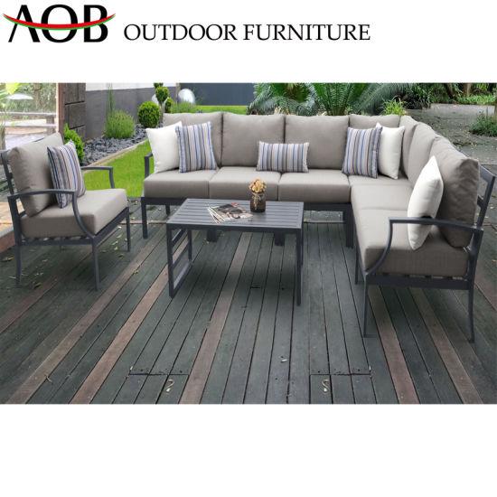 China Rattan Wicker Corner Sofa Outdoor Garden Patio Furniture Hotel Modern Sofa Sets pictures & photos