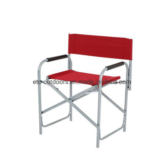 China Director Chair Steel Frame Portbale Camping Chair Beach Chair pictures & photos