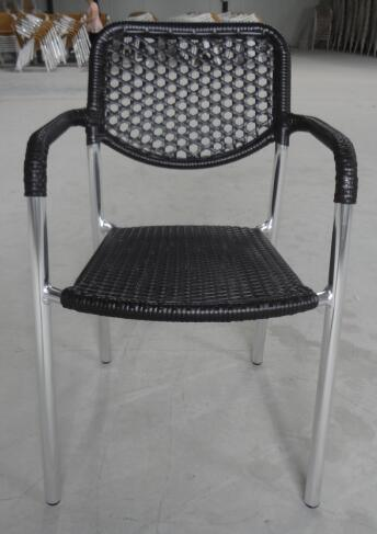 China Scratch Resistant Outdoor French Bistro Garden Restaurant Furniture Rattan Chairs Chair pictures & photos