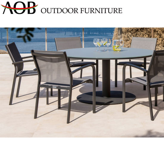 Astounding China Chinese Modern Design Aluminum Dining Sets Garden Patio Furniture Backyard Tables Gmtry Best Dining Table And Chair Ideas Images Gmtryco
