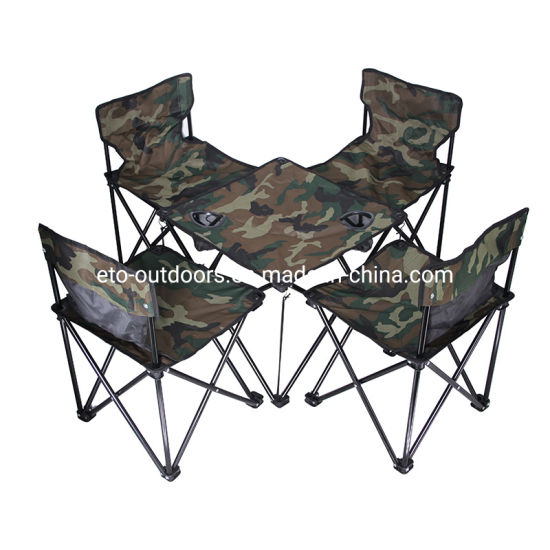 Stupendous China Portable Folding Camping Table With Cup Holders Tables Chairs Suit Set Bralicious Painted Fabric Chair Ideas Braliciousco