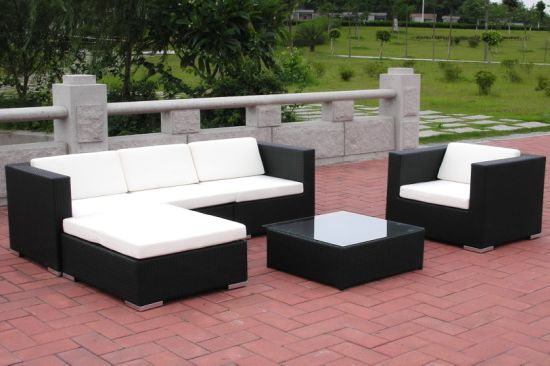 Wondrous China Outdoor Garden Patio Furniture Popular Rattan Sectional Sofa Inzonedesignstudio Interior Chair Design Inzonedesignstudiocom
