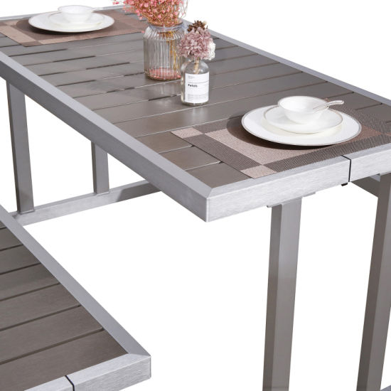 Cool China Modern Terrace Dining Set Balcony Table Bench Patio Furniture Pabps2019 Chair Design Images Pabps2019Com