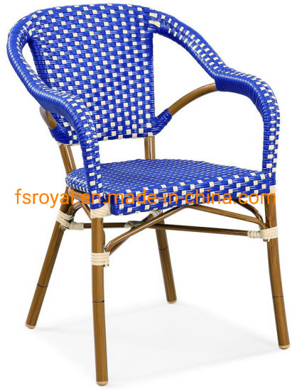 Terrific China Synthetic Rattan Leisure Chair Comfortable Single Sofa Chair In Blue Color Ocoug Best Dining Table And Chair Ideas Images Ocougorg