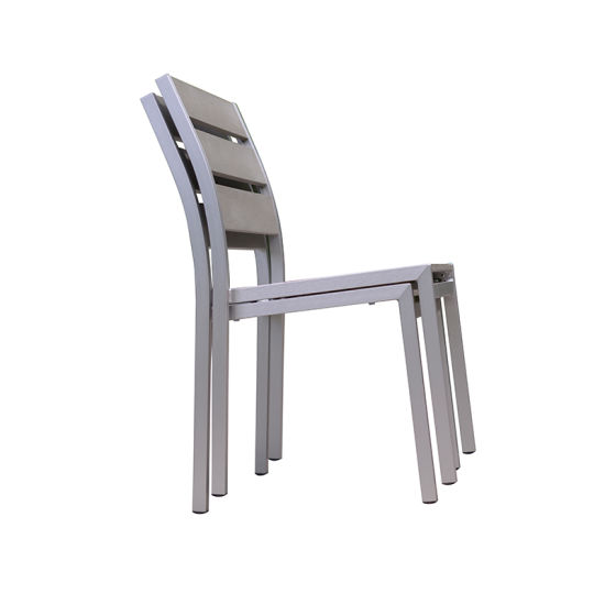 China Contemporary Garden Armless Chair Outdoor Dining Chair