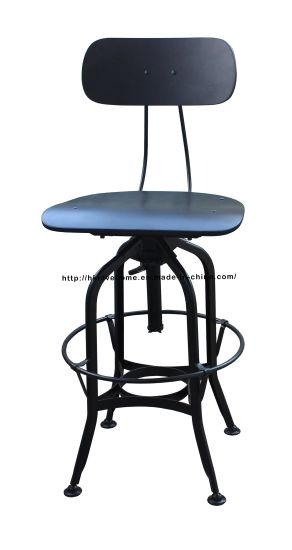 China Industrial Classic Metal Toledo Barstools Dining Restaurant Furniture Chairs