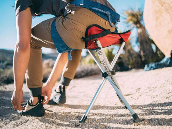 China Outdoor Packseat Portable Tripod Camping Sports Stool