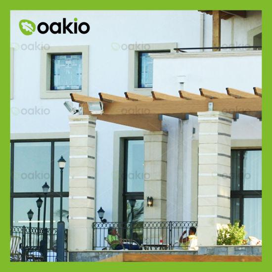China WPC Wood Plastic Composite Pergola for Outdoor Living