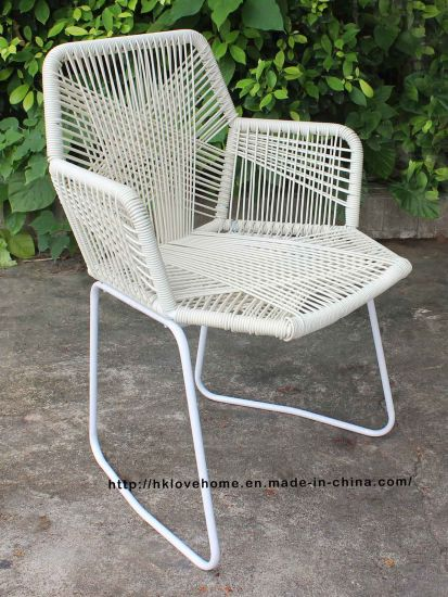 China Outdoor Metal Dining Rattan Armchair Tropicalia Restaurant Furniture Chairs