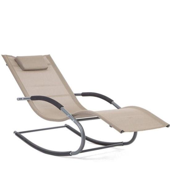 China Outdoor Rocking Sun Lounge Garden Furniture