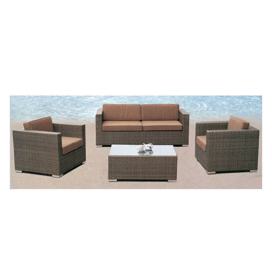 China OEM ODM Customer Custom Modern Outdoor Garden Hotel Poolside Furniture Round Shape Rattan Dayb