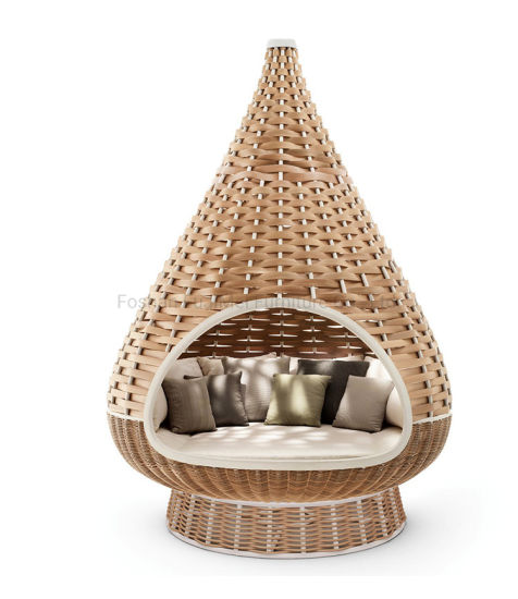 China Outdoor Rattan Chair Garden Rattan Furniture Creative Hammock Chair pictures & photos