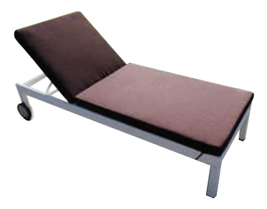 China Beach Furniture Garden Hotel Furniture Aluminum Sun Lounge Reclining Chair
