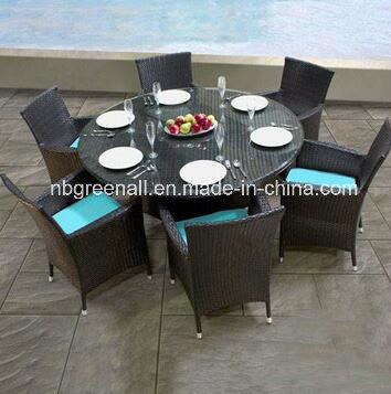 China Outdoor Rattan Dining Table Set