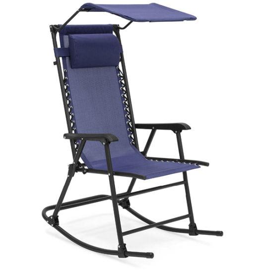 China Patio Furniture Zero Gravity Rocking Chair