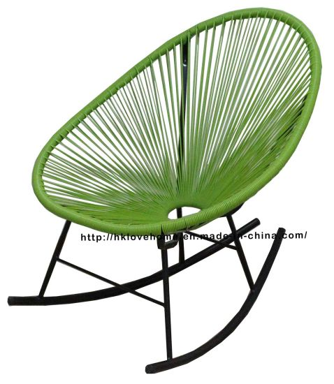 China Morden Restaurant Furniture Rattan Outdoor Leisure Rock Acapulco Lounge Chair