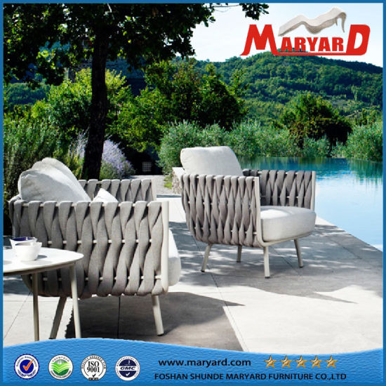 China Rope Furniture Woven Leisure Sofa Patio Furniture