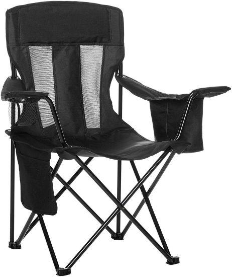 Outdoor Lightweight Folding Camping Chair Heavy-Duty Steel Frame 1.6kg
