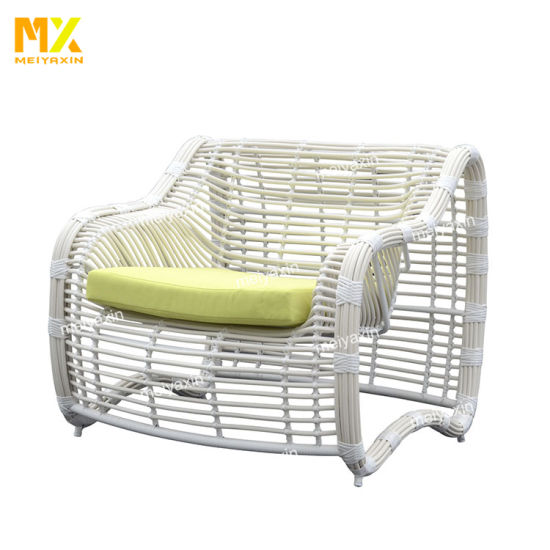 China Outdoor Patio Furniture Wicker Furniture Set Poly Rattan Sofa Set