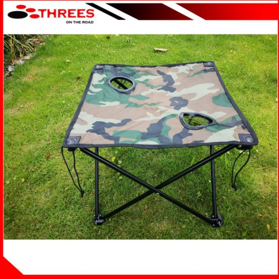 China Camouflage Folding portable Camping Table