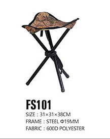 China Outdoor Folding Chair Fish Stool