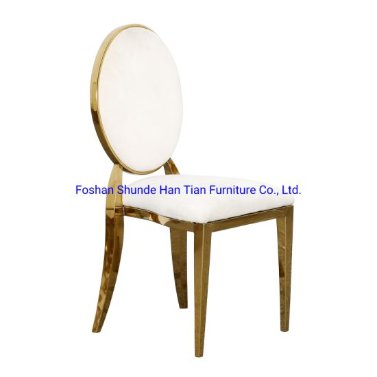 China Gold Wedding Event Banquet Furniure Best Selling Factory Direct Sale Garden Chairs