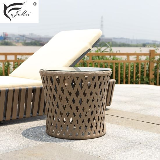 China Chaise Lounge Poolside Lounger Day Bed Garden Furniture Outdoor Furniture pictures & photos